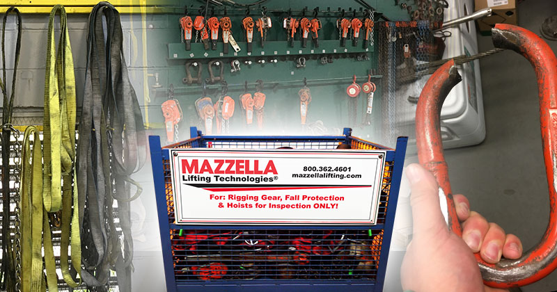 Mazzella Charlotte Rigging Inspection & Repair