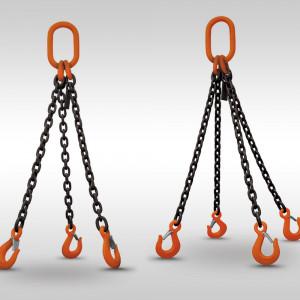 Triple Leg and Quad Leg Alloy Chain Slings