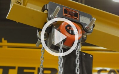 Video:CM's Hurricane 360 Hand Chain Hoist: Uses, Best Practices, & Durability