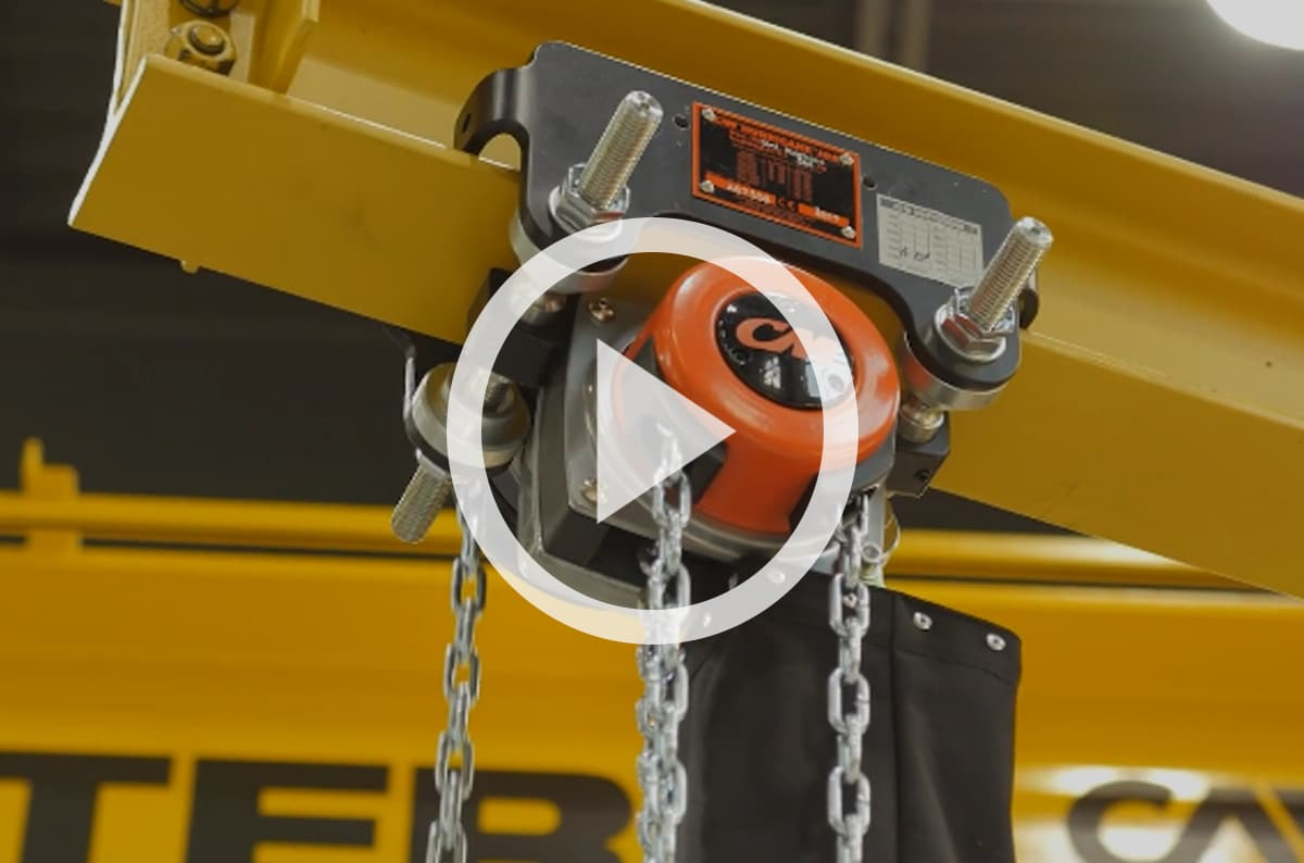 CM's Hurricane 360 Hand Chain Hoist: Uses, Best Practices, & Durability