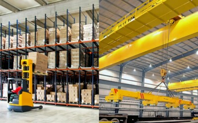 Article: Forklifts vs. Overhead Cranes: Which is the Best for Your Business?