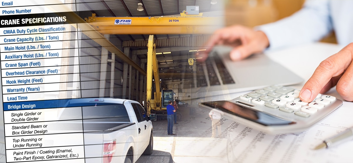 Buying A New Overhead Crane: How To Compare Quotes