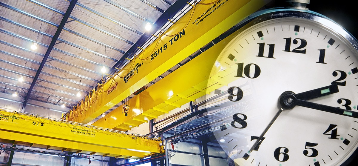 Buying A New Overhead Crane: Turnaround Time