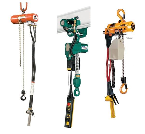Overhead Crane Components: Air / Pneumatic Hoists