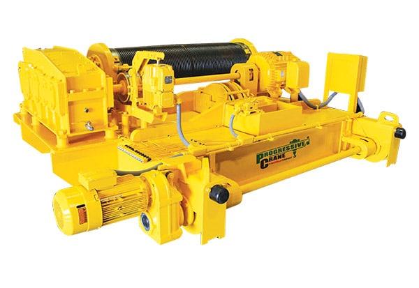 Overhead Crane Components: Built Up Hoists