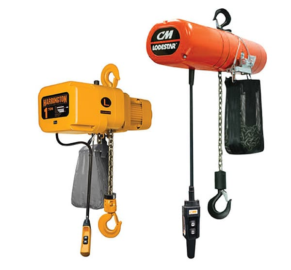 Overhead Crane Components: Electric Hoists