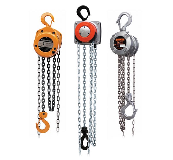 Overhead Crane Components: Manual Hoists