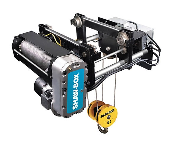 Overhead Crane Components: Wire Rope Hoists