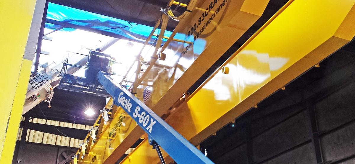 Overhead Crane Ownership: Crane Service & Repair