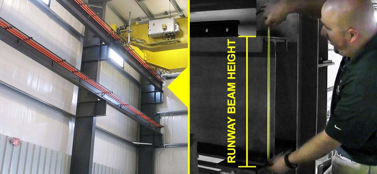 Overhead Crane Structure & Design: Measuring Crane Runway Beam