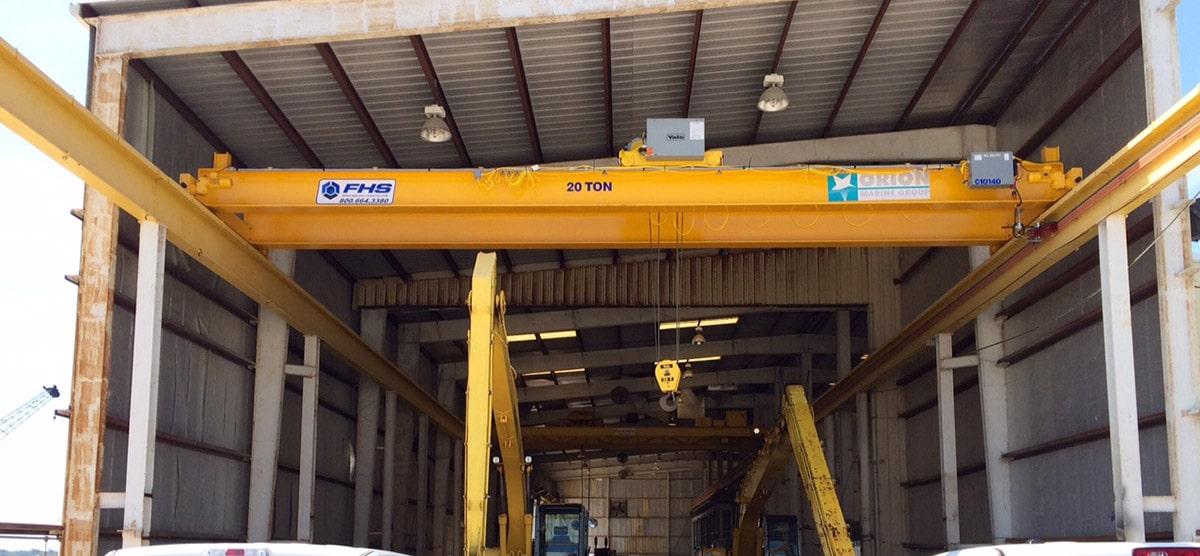 Overhead Crane Structure & Design: Top Running Vs. Under Running Cranes