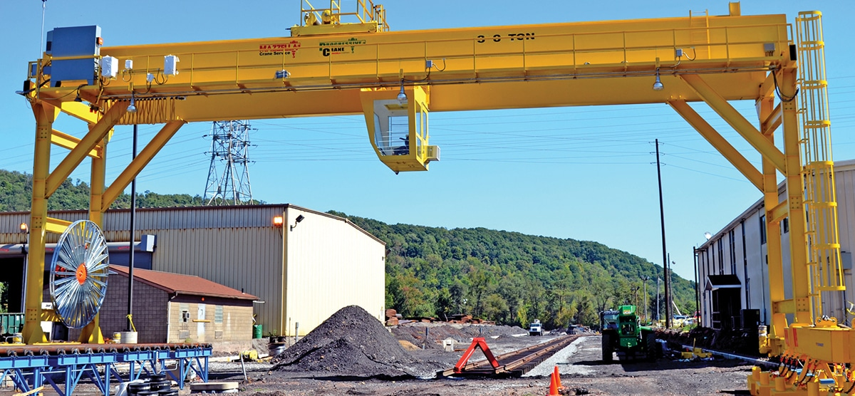 What Is An Overhead Crane: Gantry Cranes