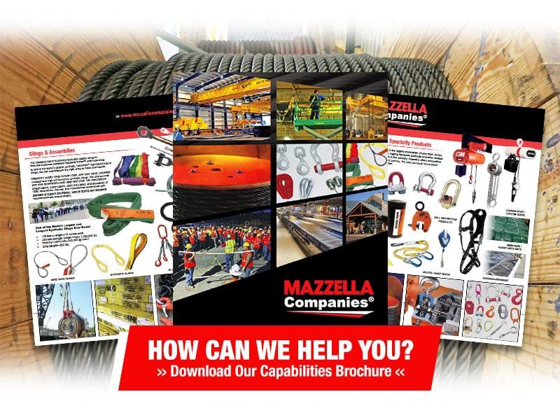 Mazzella Capabilities Brochure Download
