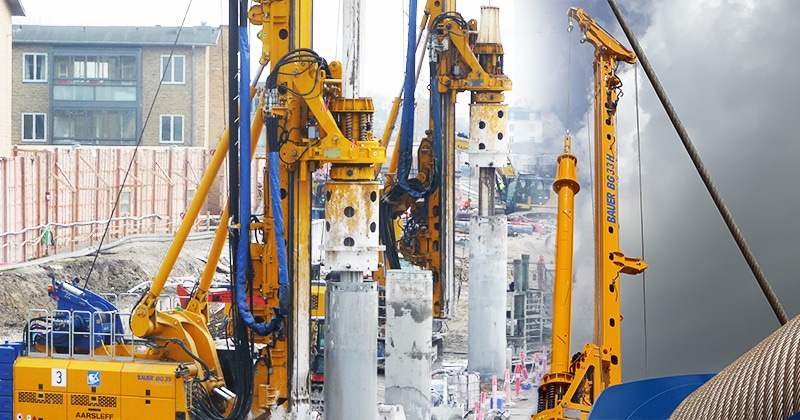 Mazzella Provides Rigging Products For Deep Foundation Drilling