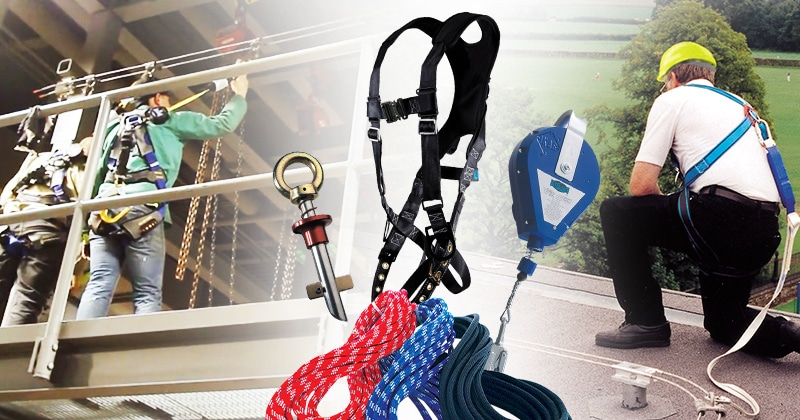 Mazzella Provides Fall Protection Products