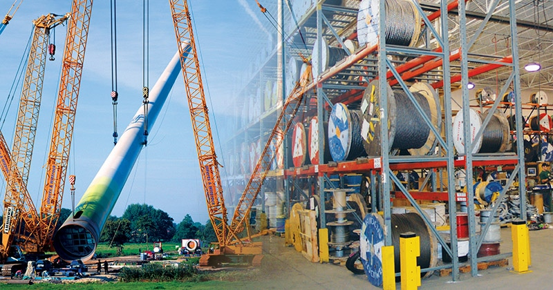 Mazzella Provides High-Performance Crane Ropes