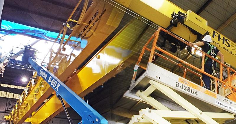 Mazzella Provides Hoist & Overhead Crane Service