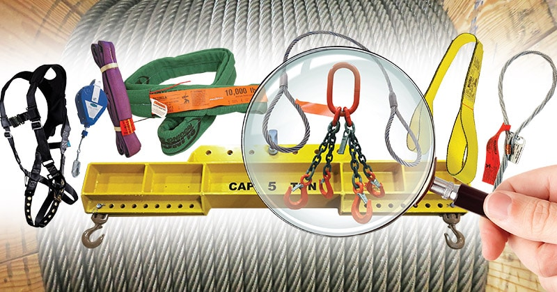 Mazzella Provides Inspections for Slings, Below-The-Hook, And Fall Protection Products