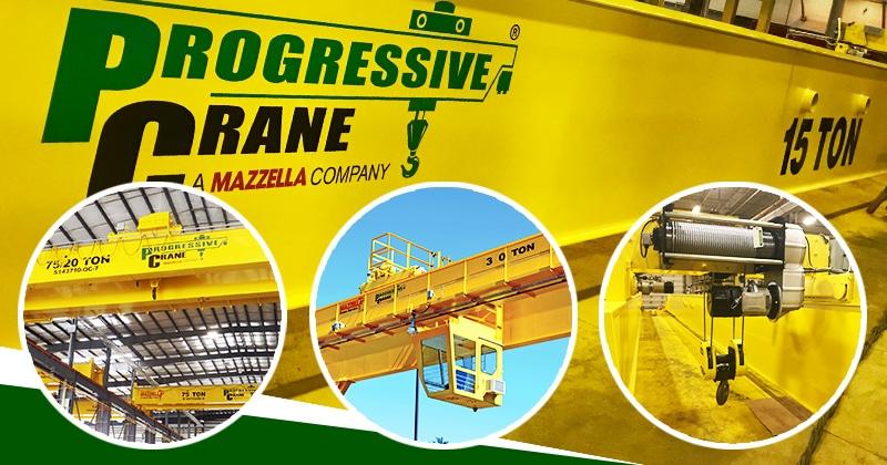 Mazzella Provides Overhead Cranes