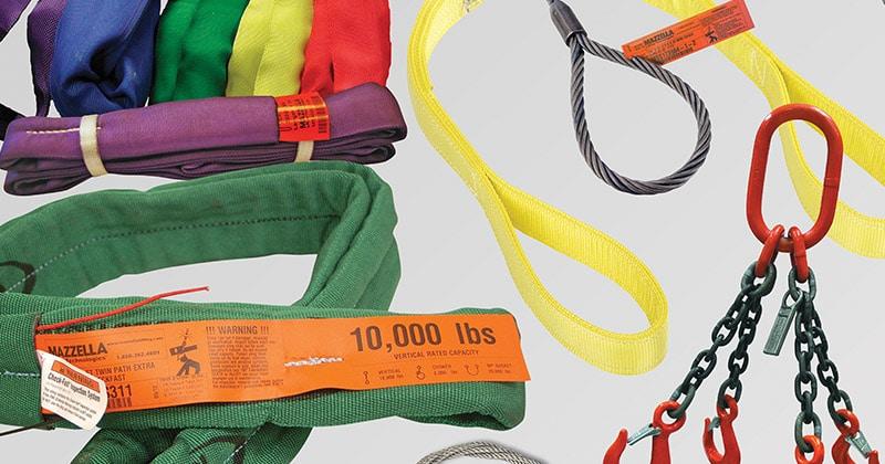 Mazzella Provides Lifting Slings & Assemblies