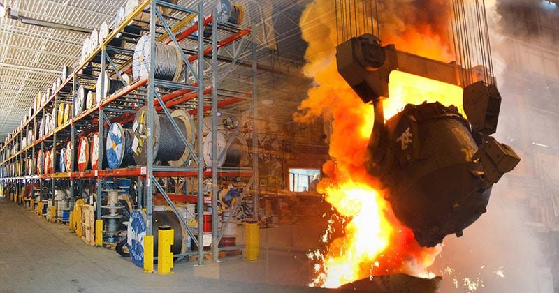 Mazzella Provides Steel Mill Programs