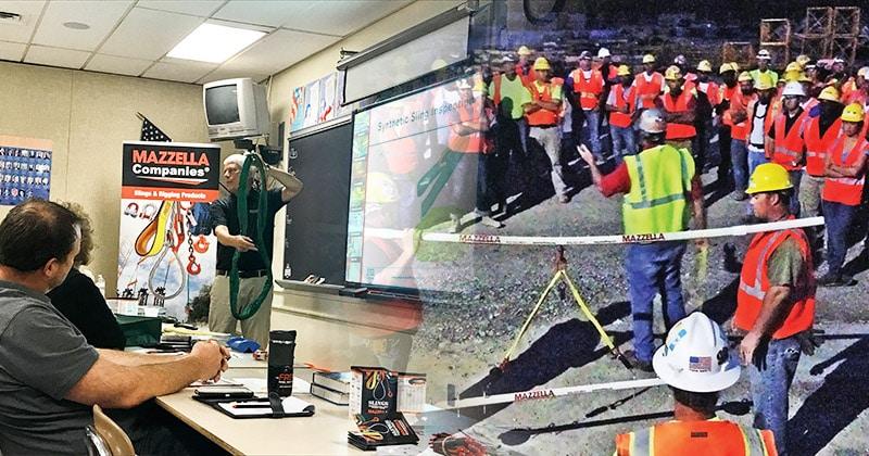 Mazzella Provides Rigging & Fall Protection Training