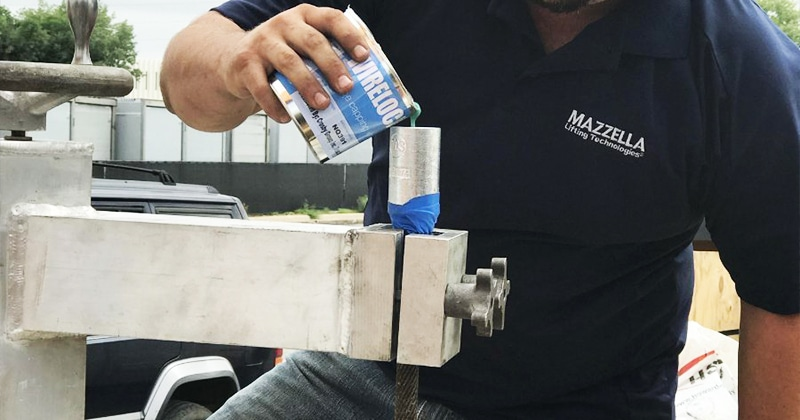 Mazzella Provides Wire Rope Socketing Services