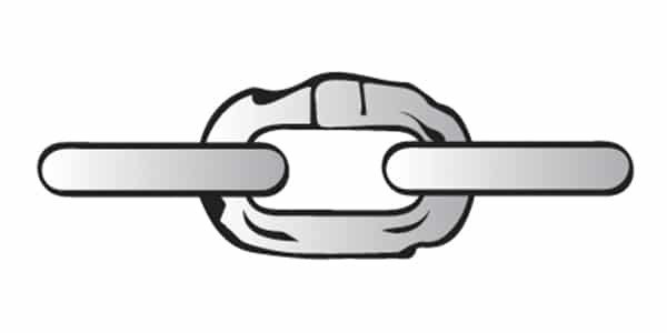 Alloy Chain Sling Inspection: Gouges