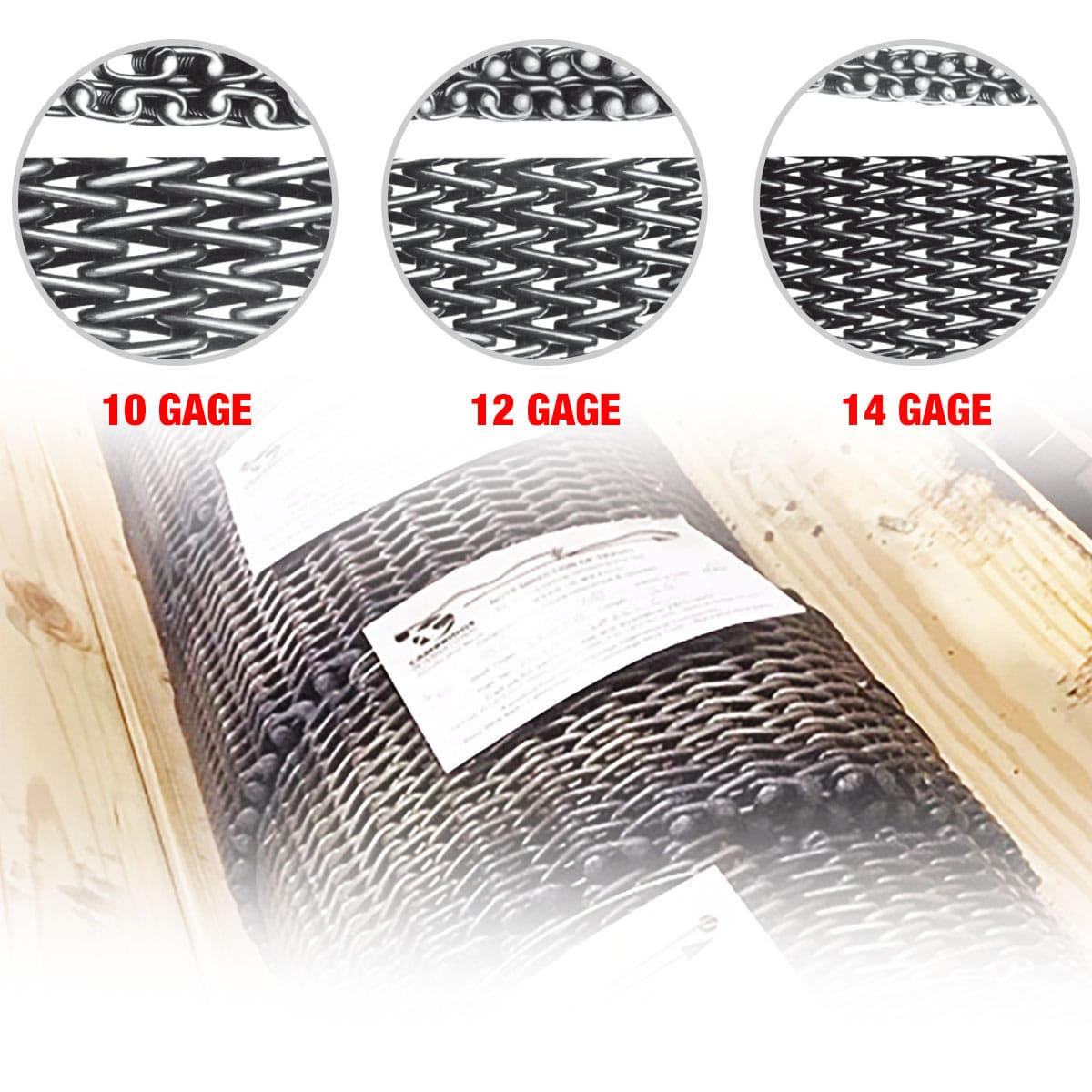 Metal Mesh Sling Inspection Fabric Construction Specifications