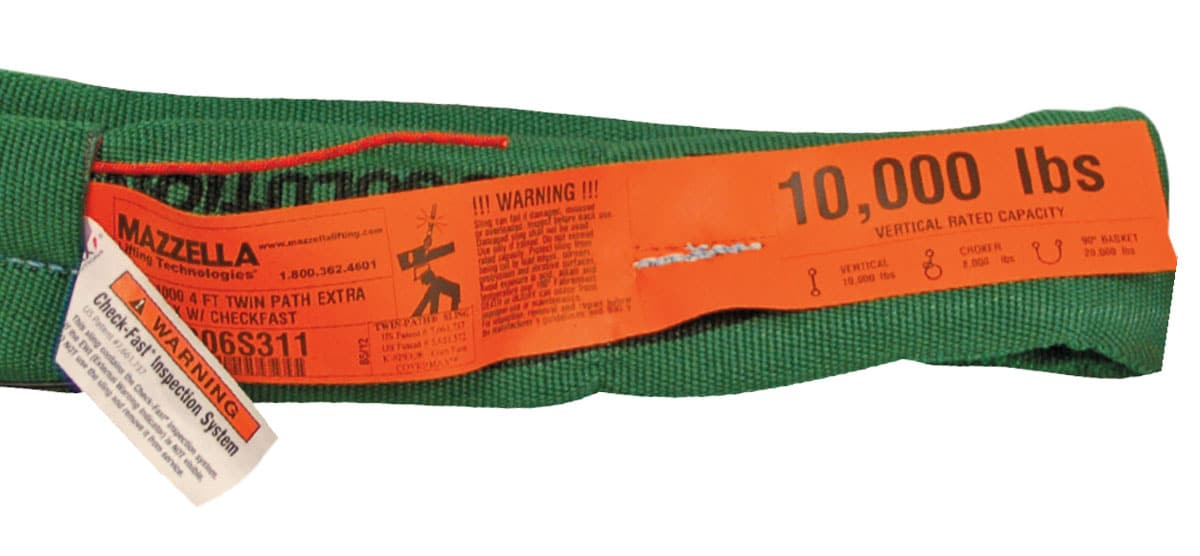 Synthetic High Performance Roundsling ID Tag Requirements
