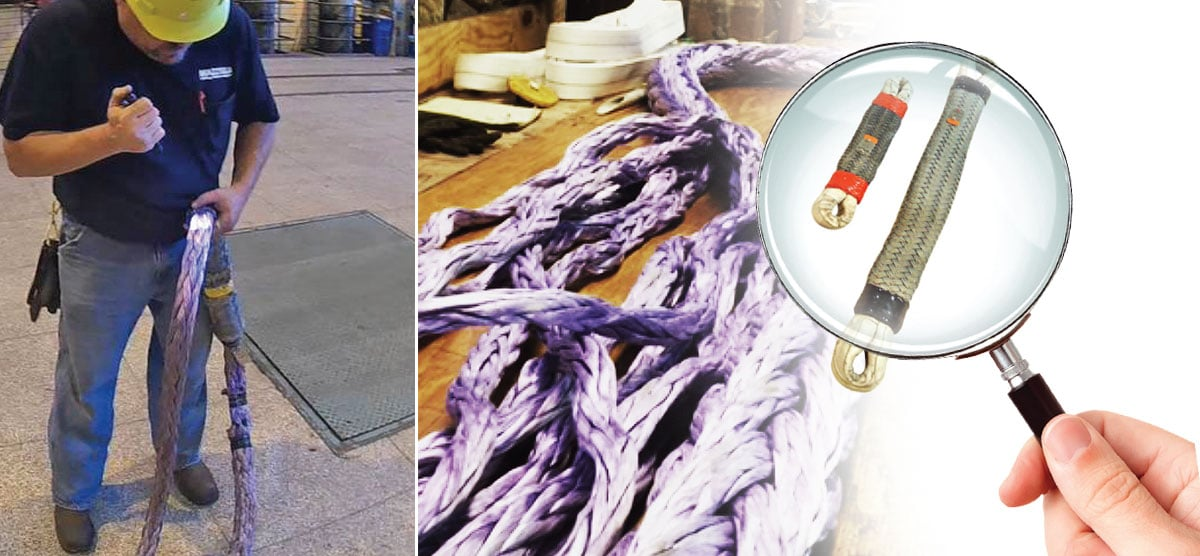 Who Performs Synthetic Rope Sling Inspections