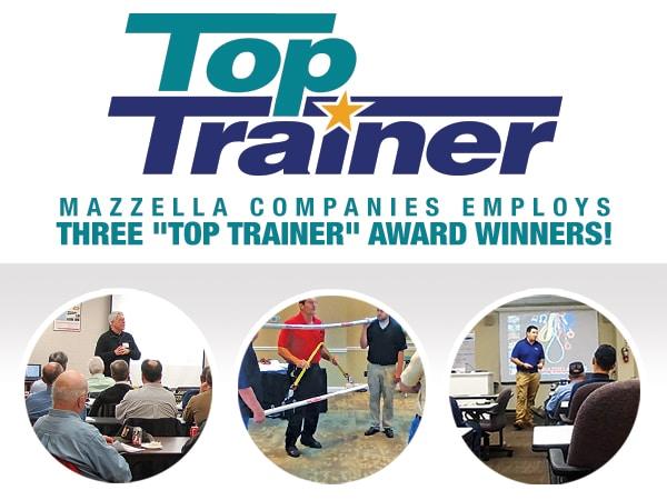 Mazzella Top Trainer Award Winners