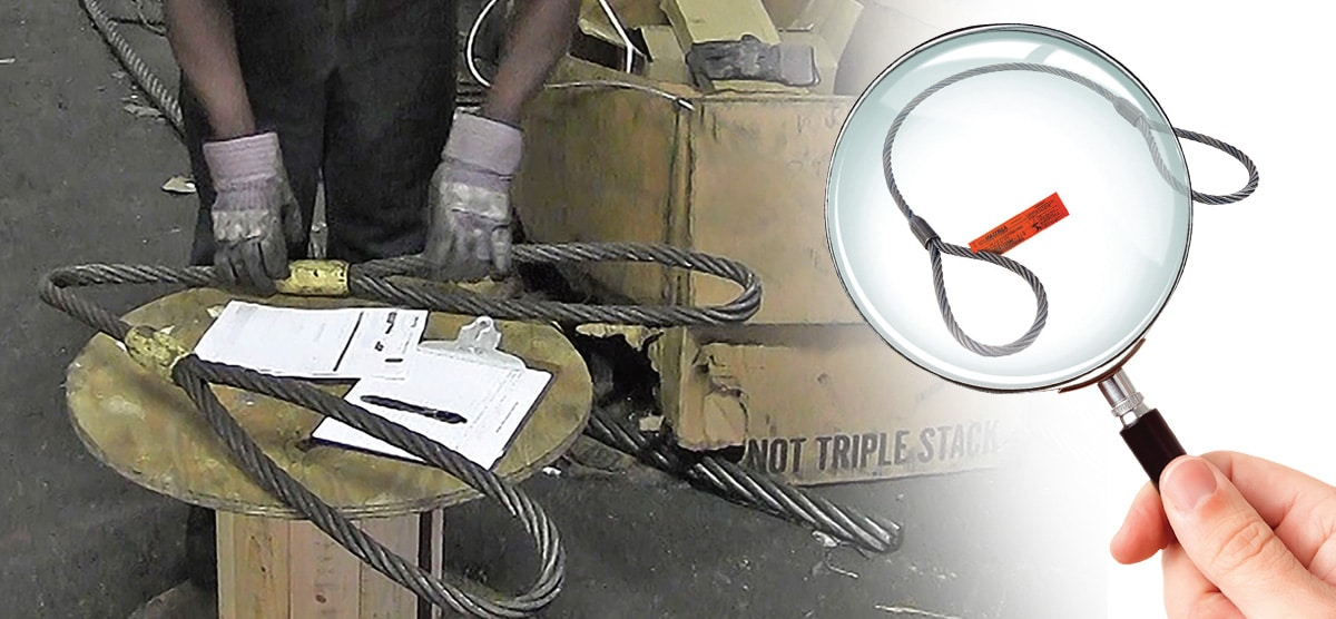 Who Performs Wire Rope Sling Inspection