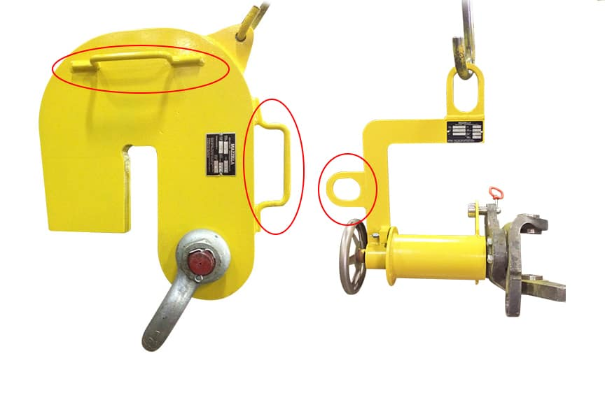 No Touch Hand Tools: Below-the-Hook Lifting Devices