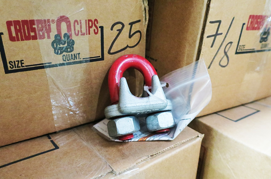 Article Wire Rope Clips: Crosby Clip