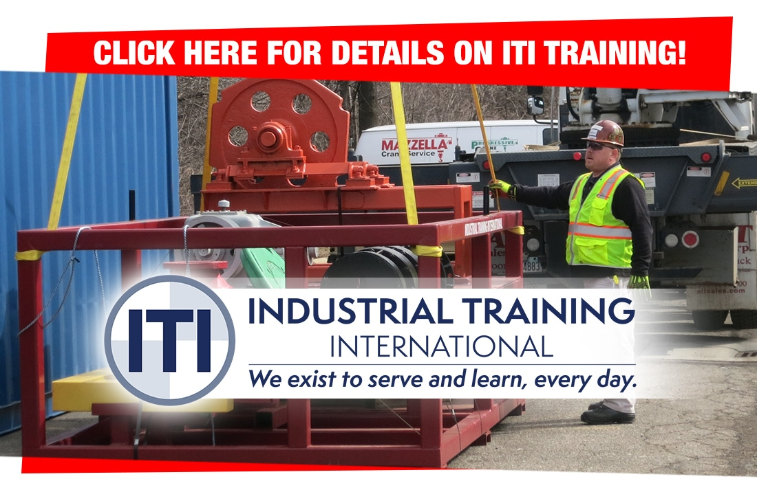 ITI Certified Training Callout