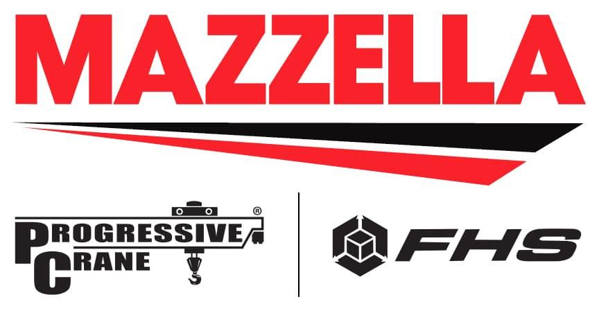 Mazzella Logo with Progressive Crane & FHS