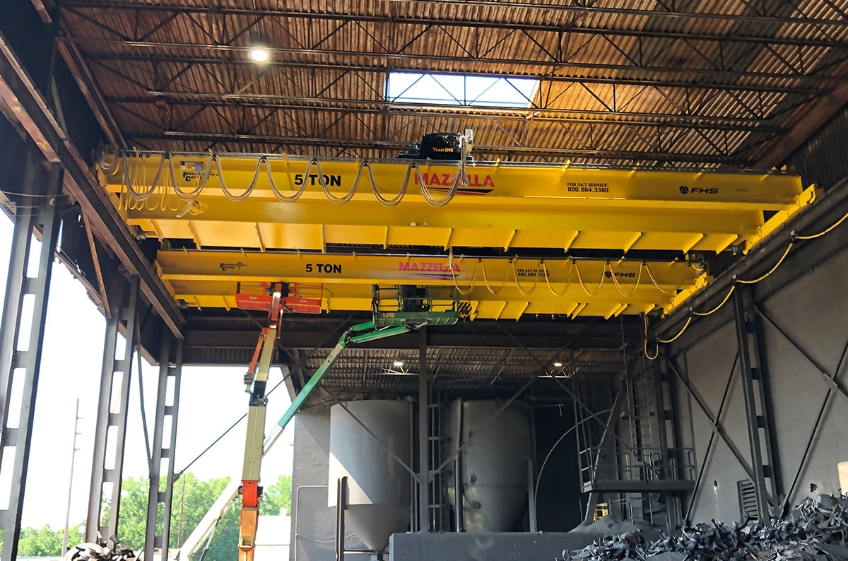 Overhead Cranes: From Top to Bottom