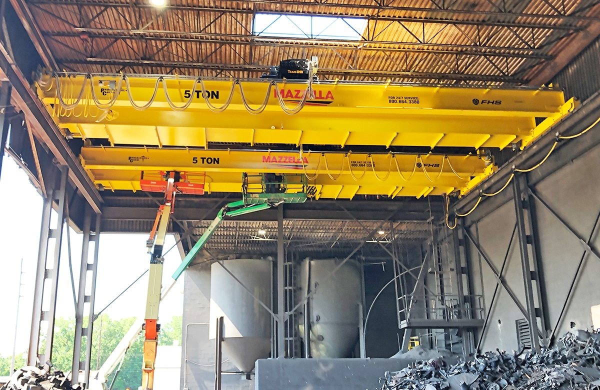 What is an Overhead Crane: Section 1