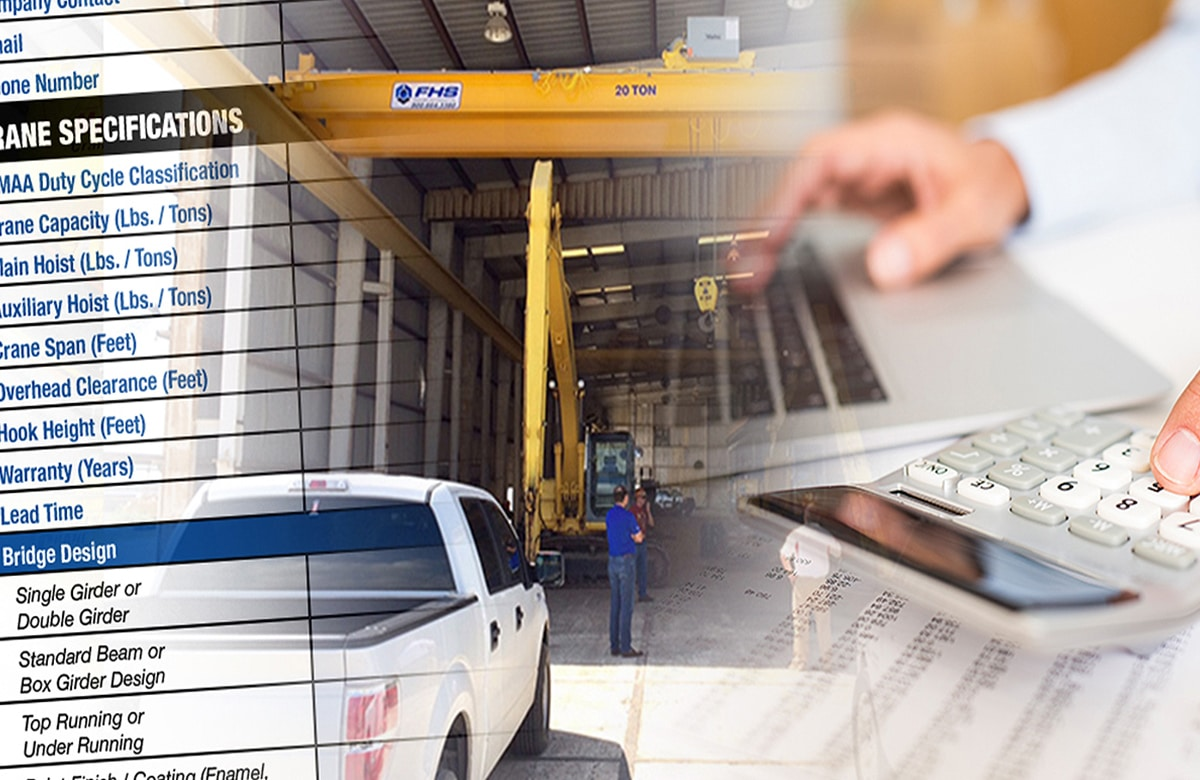 How to Compare Overhead Crane Quotes: Section 5