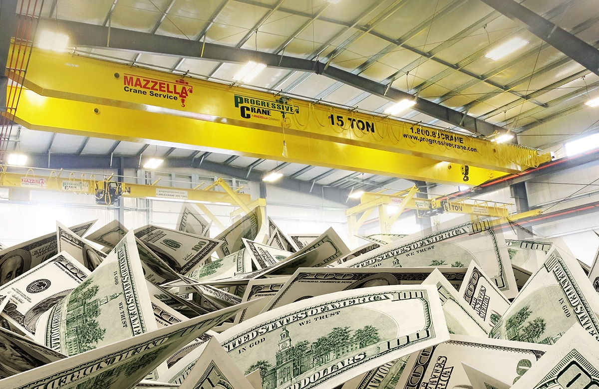 What is the Cost of an Overhead Crane: Section 6
