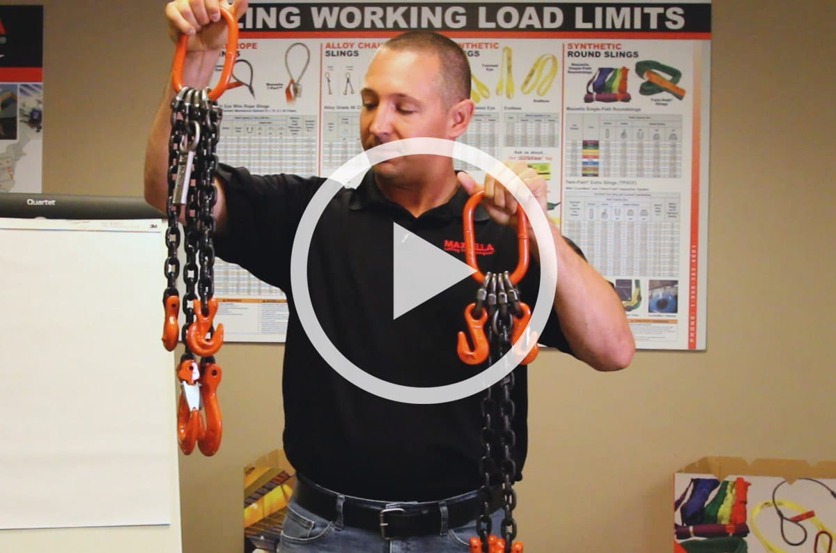 Can an End User Assemble Their Own Chain Slings in the Field?
