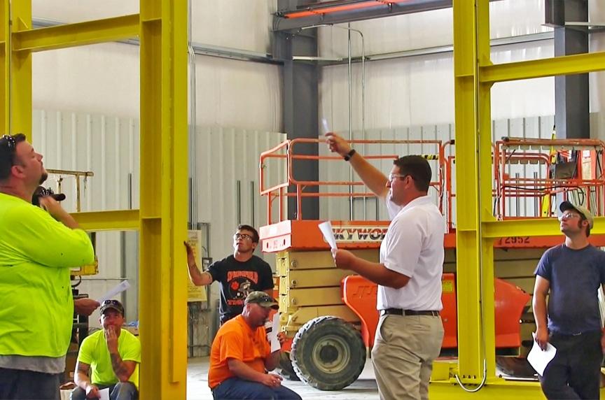 overhead crane operator training jobsite training
