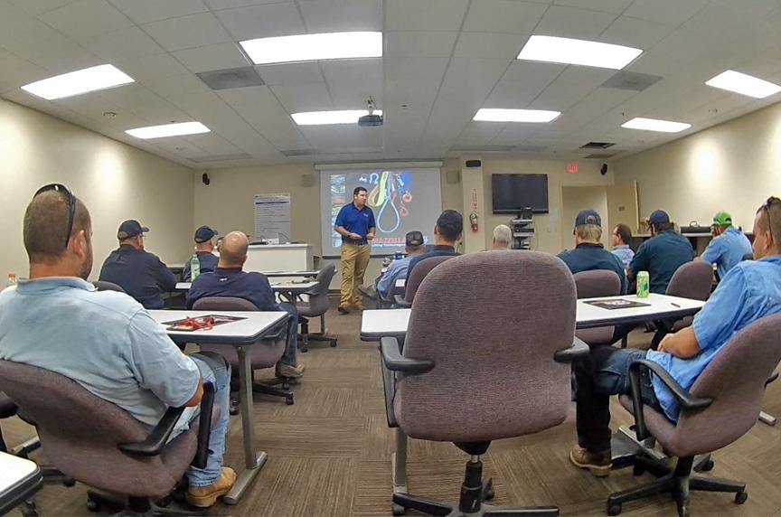 crane operator training classroom training