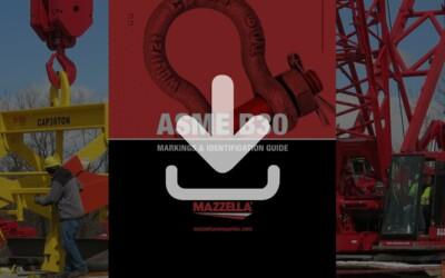 ASME B30 Markings & Identification Guide: Resource