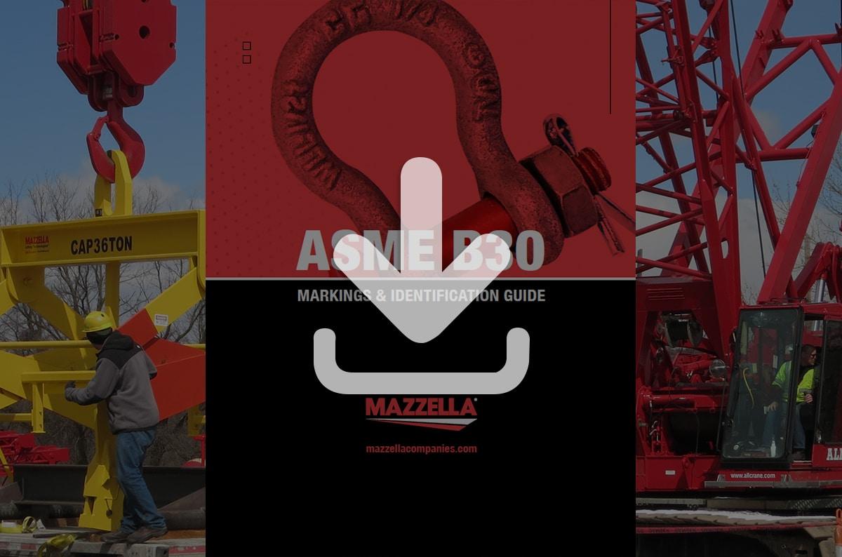 ASME B30 Markings & Identification Guide