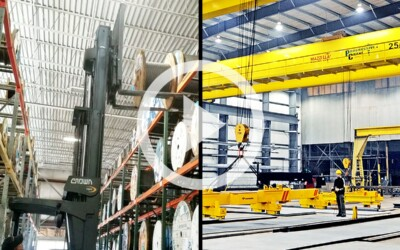 Forklifts Vs. Overhead Cranes: Which Is Best For Your Business: Video