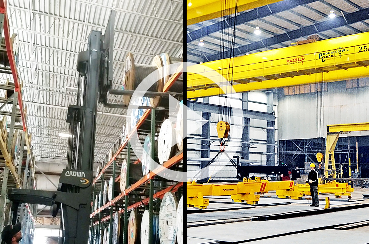 Forklifts vs. Overhead Cranes: Which is the Best for Your Business?