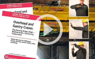 What Are ASME B30.2 Hand Signals For Overhead & Gantry Cranes: Video