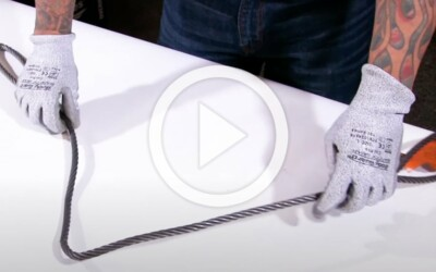 When Is A Kink Or A Dogleg In A Wire Rope Sling Removal Criteria: Video